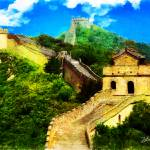 """THE GREAT WALL OF CHINA"" by Zaboni"