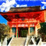 """KIYOMIZU-DERA JAPAN"" by Zaboni"