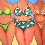 """Beach Babes - Funny Women Beach Seashore Body"" by RebeccaKorpita"