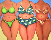 Beach Babes - Funny Women Beach Seashore Body