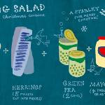 """Herring Salad by Marianna Oklejak"" by TheyDrawandCook"