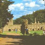 """Fountains Abbey in Summer 1"" by PriscillaTurner"