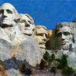 """MOUNT RUSHMORE USA"" by Zaboni"
