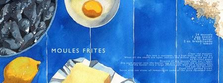 Moules Frites by Hannah Clark
