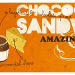 """Chococheese Sandwich by Jordi Farres"" by TheyDrawandCook"