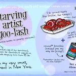 """Starving Artist Goo-Lash by Lisa Graves"" by TheyDrawandCook"