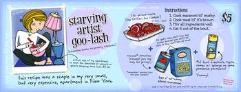 Starving Artist Goo-Lash by Lisa Graves