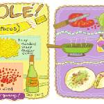 """Tacos Ole by Sharon Mann"" by TheyDrawandCook"