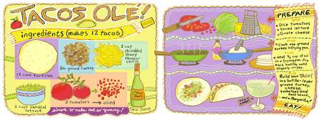 Tacos Ole by Sharon Mann
