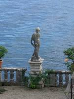 Statue Watching the Lake