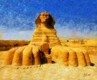 SPHINX OF GIZA EGYPT