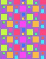Multicoloured Squares (digital) by Louisa Knight