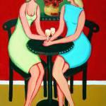"""Therapy Session - Funny Women Wine Conversation"" by RebeccaKorpita"
