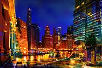 Chicago Lights and Color