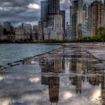 """Hancock Building Reflections"" by jeffmtrost"