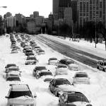 """Lake Shore Drive - Chicago Blizzard of 2011"" by jeffmtrost"