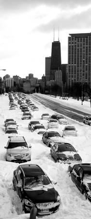 Lake Shore Drive - Chicago Blizzard of 2011