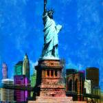 """STATUE OF LIBERTY USA"" by Zaboni"