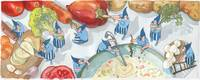 Vegetable Soup by Ekaterina Muratova by They Draw & Cook & Travel