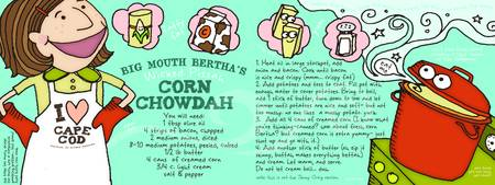 Corn Chowdah by Lisa Graves