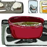 """Persian Lentil Soup by Nazanin Kani"" by TheyDrawandCook"