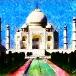 """TAJ MAHAL INDIA"" by Zaboni"