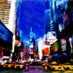 """TIMES SQUARE NY"" by Zaboni"