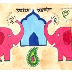 """""""Palak Panir by Kamini Raghavan"""" by TheyDrawandCook"""
