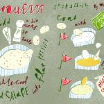 """Japanese Croquettes by Masako Kubo"" by TheyDrawandCook"