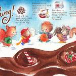 """Chocolate Dipped Anything by Shirley Ng-Benitez"" by TheyDrawandCook"