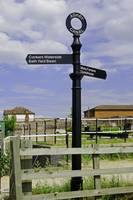 Ashby Canal Signpost, at Moira Lock (29127-RDA)