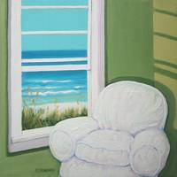 Window to the Sea No 2 - Beach Seashore Ocean