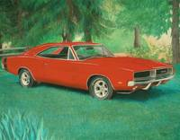 '69 Dodge Charger Painting