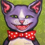 """Yet Another Cat Laughing - Funny Feline Kitty Cats"" by RebeccaKorpita"
