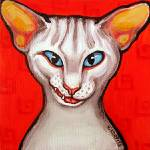 """Not another Cat Laughing - Funny Feline Kitty Cats"" by RebeccaKorpita"