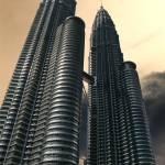 """""""Apocalyptic Sky, Petronas Towers"""" by janemcdougall"""