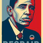 """Sad Obama Despair"" by libertymaniacs"