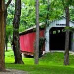 """""""Vermont Bridge (color)"""" by Kilclinephotography"""