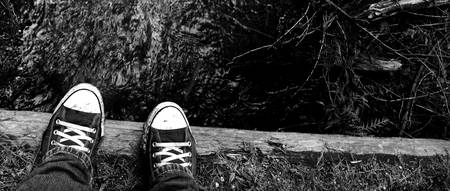 Creekside Chucks - B&W