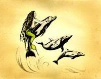 'Wild Life' Mermaid by Savanna Redman