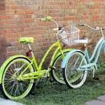 """Colorful Bikes"" by JenniferStockman"