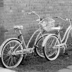 """""""Bikes in Black and White"""" by JenniferStockman"""
