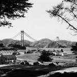 """Golden Gate Bridge from the Presidio"" by worldwidearchive"