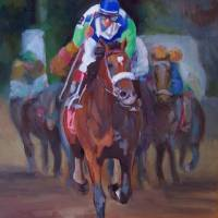 The Big Winner Art Prints & Posters by Susan Cone Porges