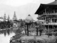 Japanese Pavillion at the PPIE, 1915 by WorldWide Archive