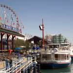 """Navy Pier tour boats Chicago"" by kphotos"