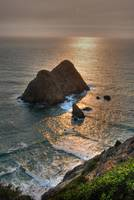Sunset on Northern California Coast