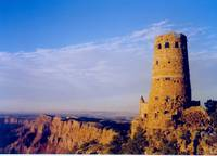 Indian Tower in the Grand Canyon