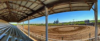 Dupree Rodeo Grounds Panorama