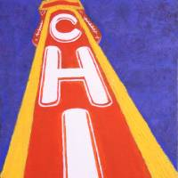 Chicago Theatre #3 Art Prints & Posters by Lenny Gallo